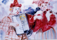 00167 - LES CLOWNS A L'ACCORDEON